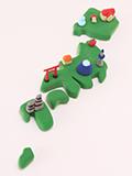 日本地図の写真